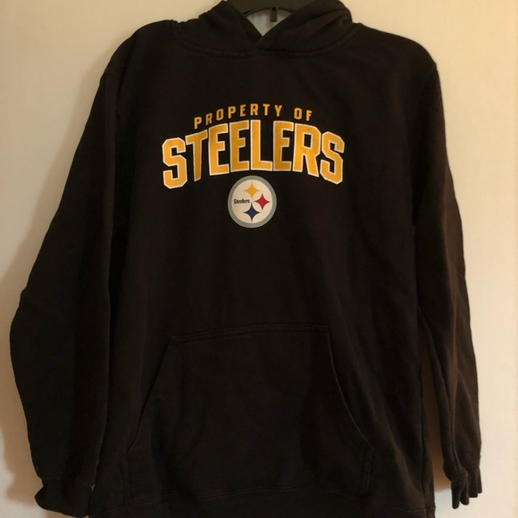 sneakers for cheap 7c24b f8cf8 Pittsburgh Steelers Hoodie Youth XL